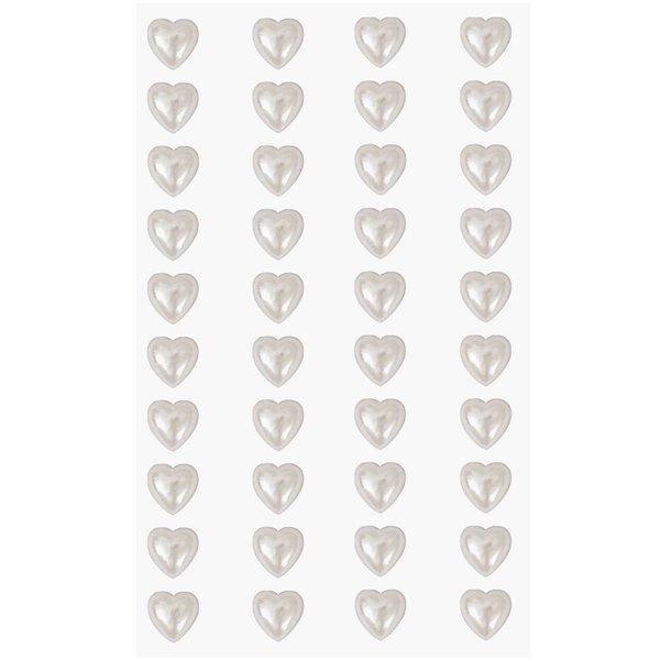 Paper Poetry Perlen-Sticker Herzen 8mm
