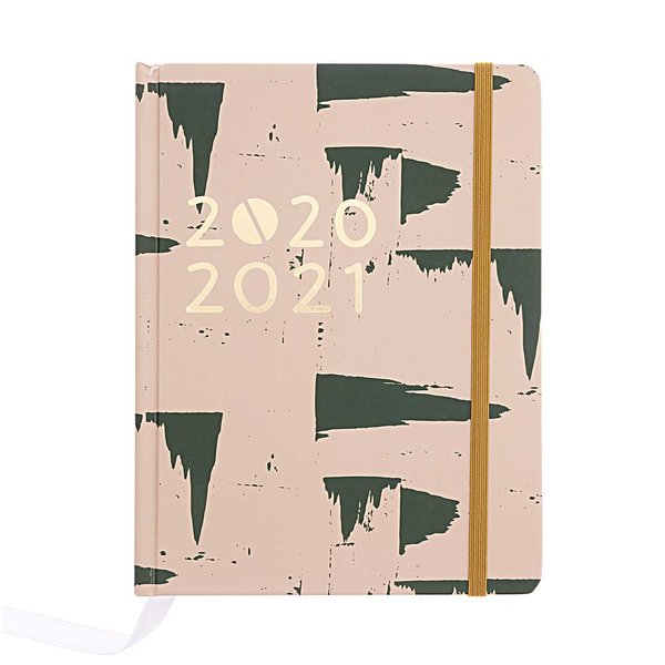 Paper Poetry Agenda 2020-2021 rosa 14x18x2,5cm