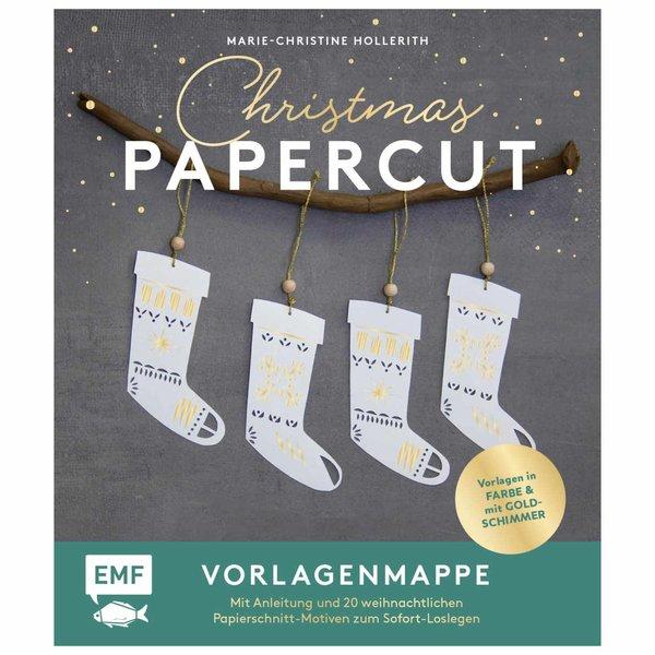 EMF Christmas Papercut Vorlagenmappe & Papierschneidebogen