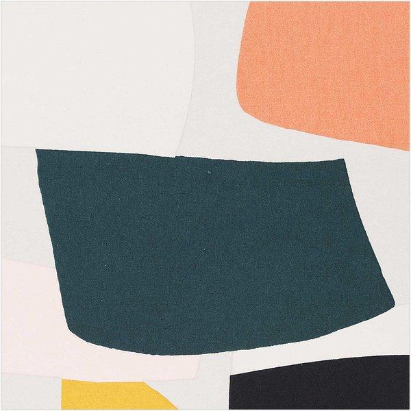 Rico Design Druckstoff Okina Hana grafisches Muster groß neon 140cm