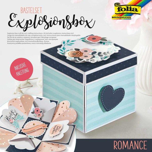 folia Explosionsbox Bastelset Romantik