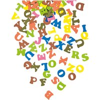 Rico Design Moosgummi Buchstaben mehrfarbig selbstklebend
