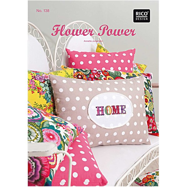 Rico Design Flower Power Buch No. 138