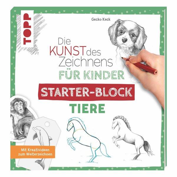 TOPP Die Kunst des Zeichnens für Kinder Starter-Block - Tiere