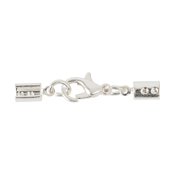 Jewellery Made by Me Lederbandverschluss Edelstahl 5mm