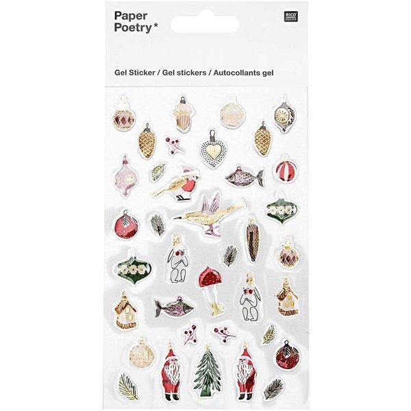 Paper Poetry Gelsticker Nostalgic Christmas classic