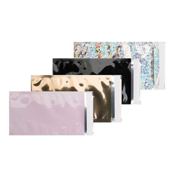 Rico Design Versandtaschen Metallic  DIN lang 5 Stück