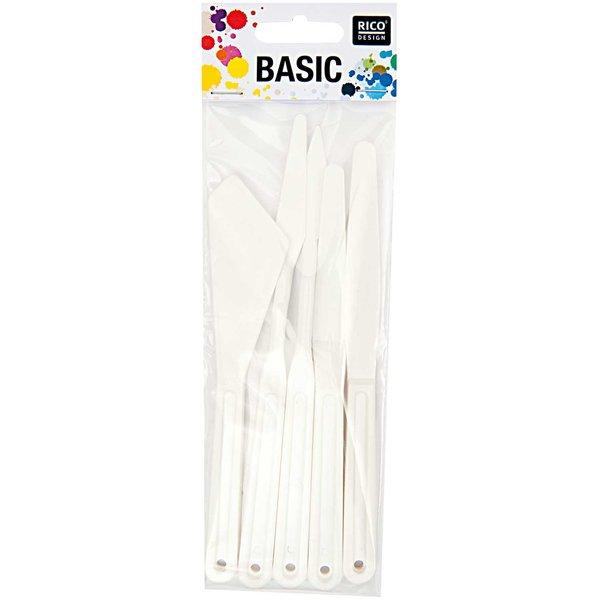 Rico Design Plastikspachtel 5er Set