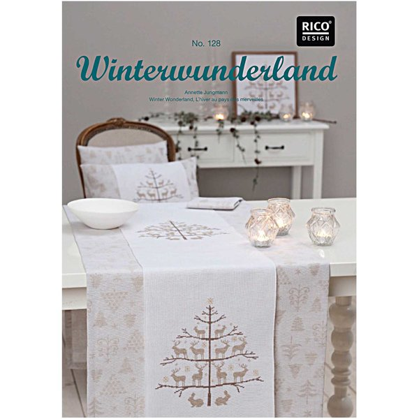Rico Design Stickbuch Winterwunderland Nr.128