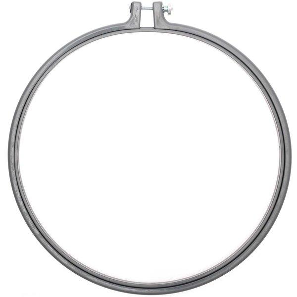 Rico Design Stickring aus Kunststoff grau 25,4cm