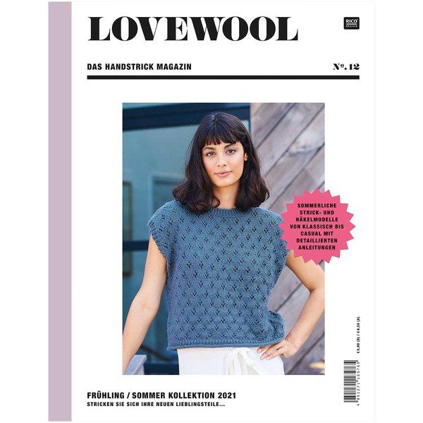 Rico Design Lovewool Nr.12 Handstrickmagazin Frühjahr-Sommer