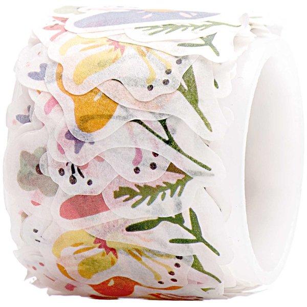 Rico Design Washi Sticker Streublumen 200 Stück