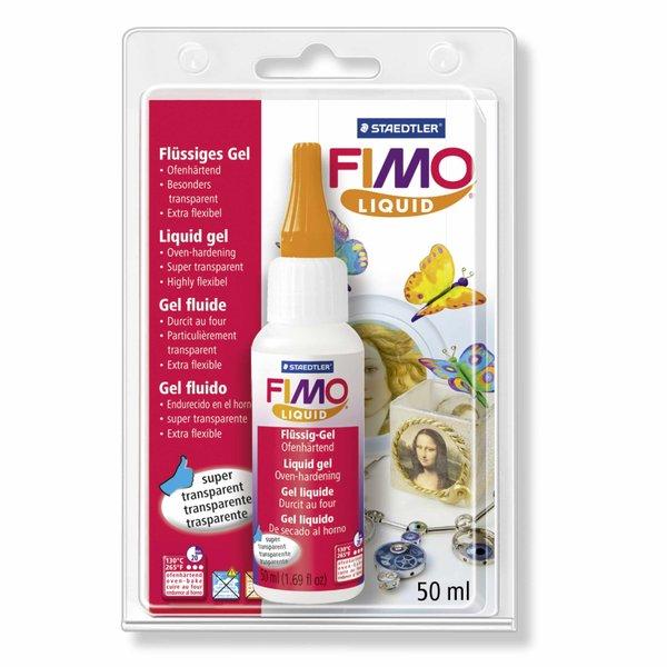 Staedtler FIMO Liquid ofenhärtendes Modelliergel transparent 50ml