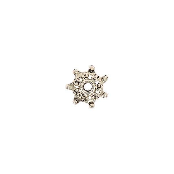 Jewellery Made by Me Perlkappe Stern 9x2mm 6 Stück