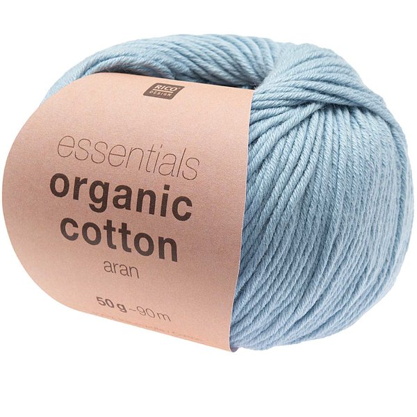 Rico Design Essentials Organic Cotton aran 50g 90m