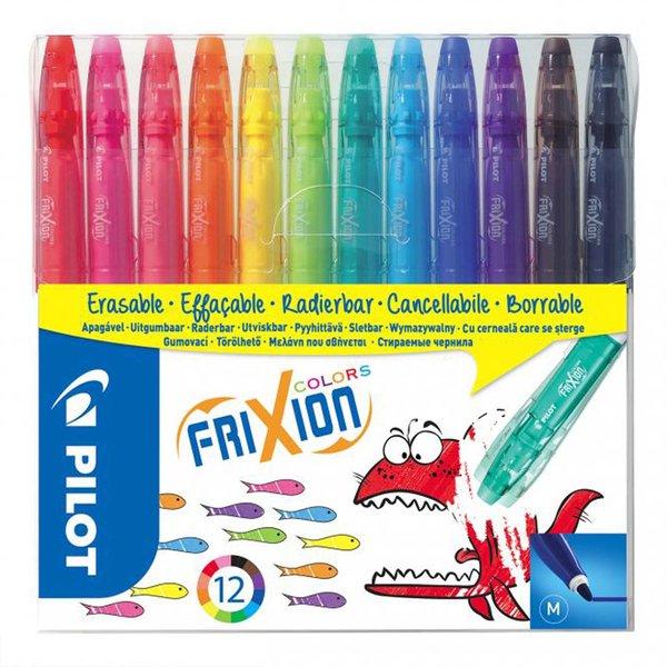 PILOT Frixion Color Filzstifte 12 Farben