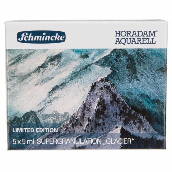 Schmincke HORADAM Supergranulierend Aquarell Gletscher 5x 5ml