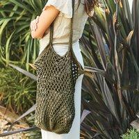 Häkelanleitung Tasche aus Fashion Cotton Métallisé DK