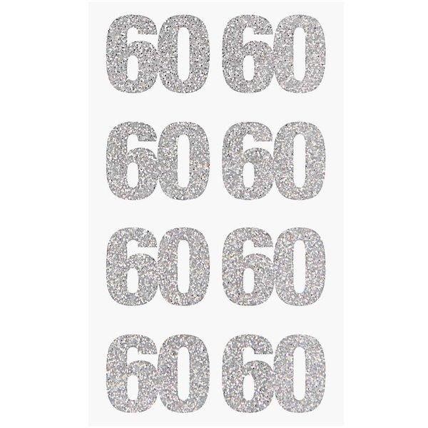 Paper Poetry Glittersticker 60 silber