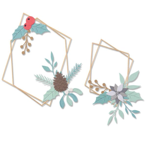Sizzix Thinlits Die Set Geometric Winter Frame