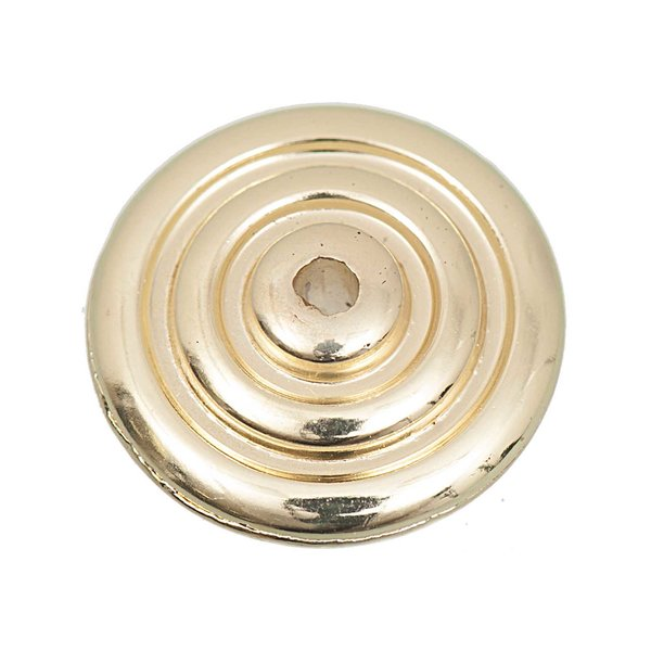 Jewellery Made by Me Diskus mit Kreisen gold 21mm 6 Stück