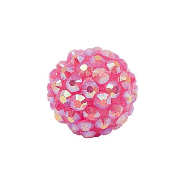 Rico Design Strasskugel rosa 17mm