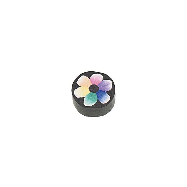 Jewellery Made by Me Scheibe Blume mehrfarbig Ø=10mm 6 Stück