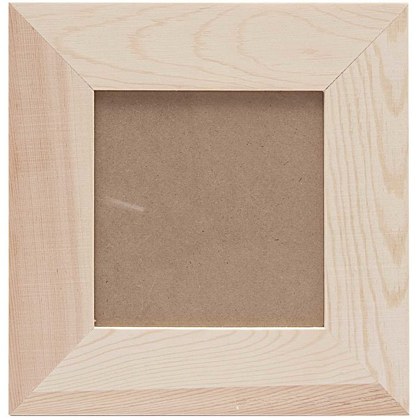 Rico Design Holz Bilderrahmen 21x21x1cm