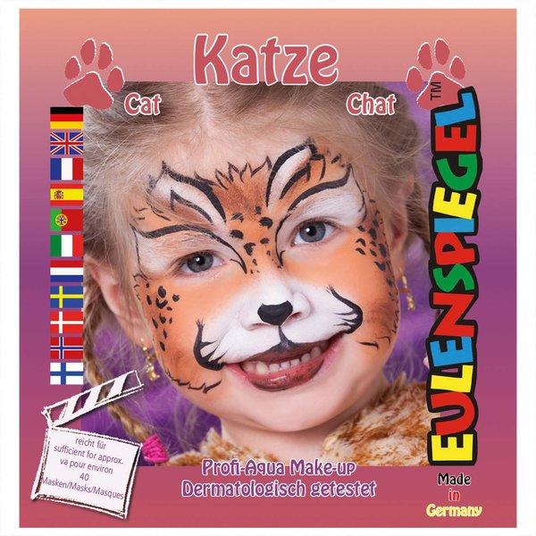 Eulenspiegel Schmink Set Katze