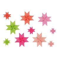 Rico Design Fröbelstreifen neon mix 60 Stück