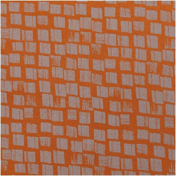 Rico Design Druckstoff Canvas Nature Matters Kästchen braun-grau 140cm