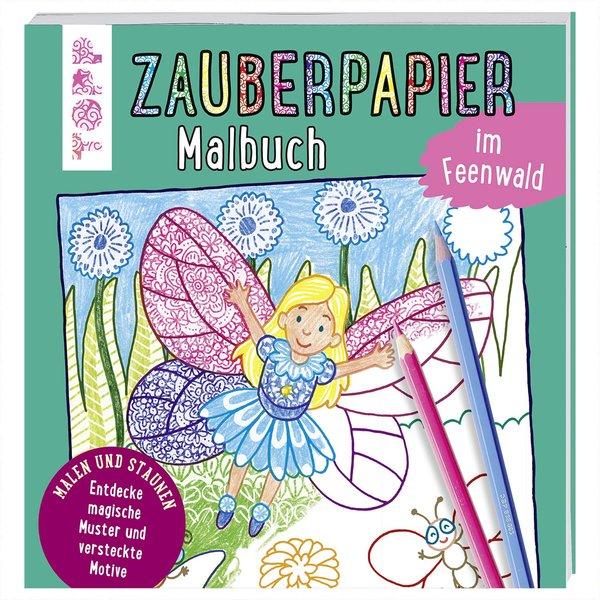TOPP Zauberpapier Malbuch im Feenwald