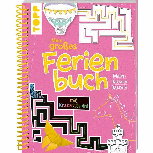TOPP Mein großes Ferienbuch - pink