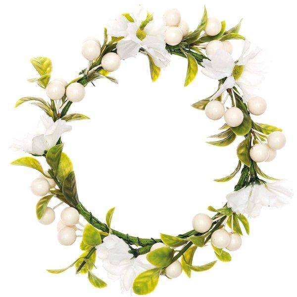 Ohhh! Lovely! Kranz Blumen & Beeren weiß 12cm