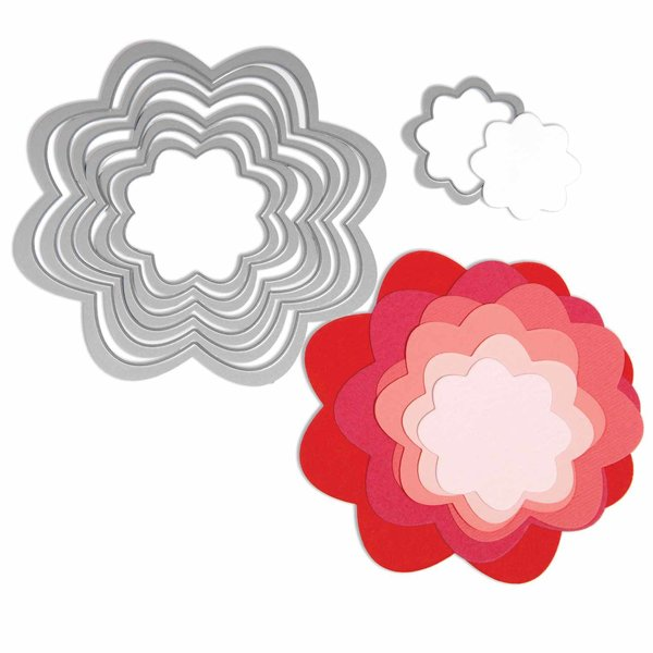 Sizzix Framelits Die Flowers