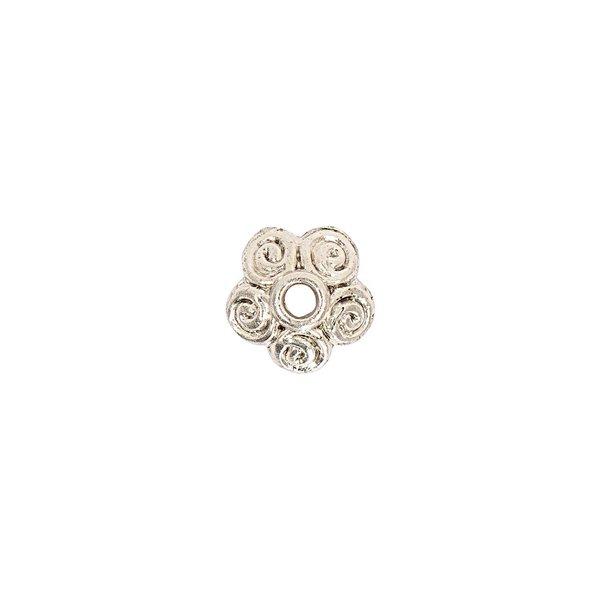 Jewellery Made by Me Perlkappe Kringel 10x4mm 2 Stück