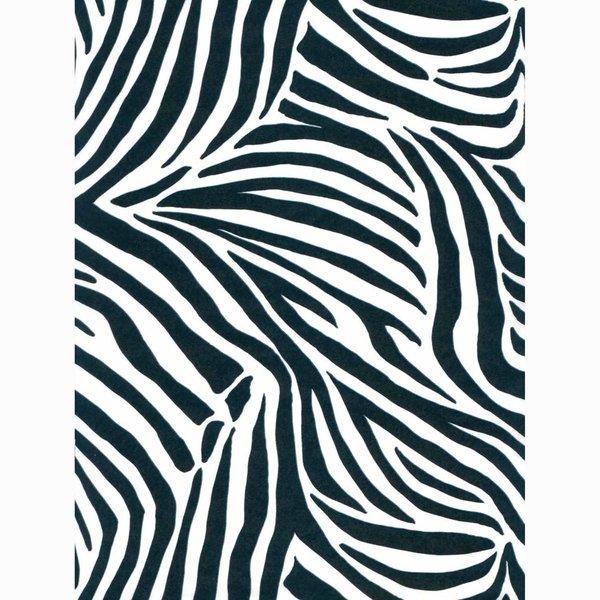 décopatch Papier Zebra groß 3 Bogen