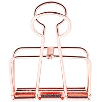 Paper Poetry Wire Clips kupfer 51mm
