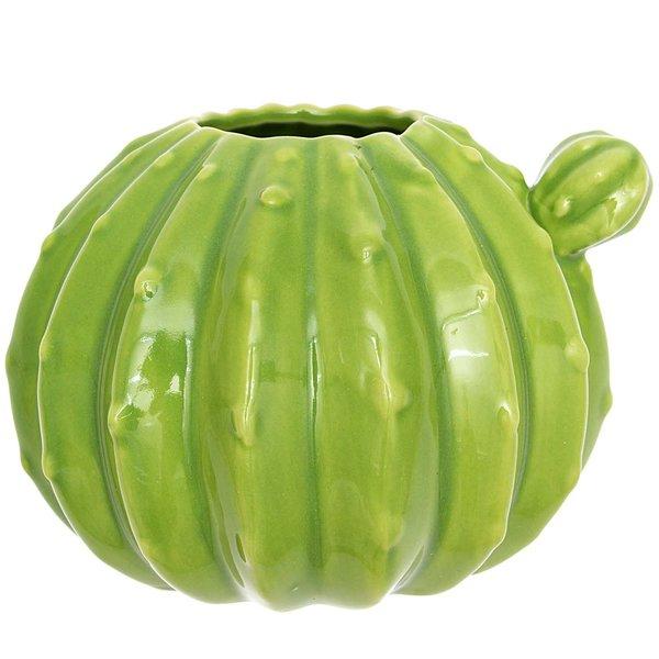 Vase Kaktus rund 8,5x12cm
