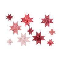 Paper Poetry Fröbelstreifen rot-weiß mix 60 Stück