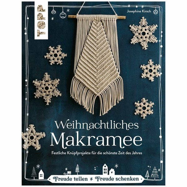 TOPP Weihnachtliches Makramee