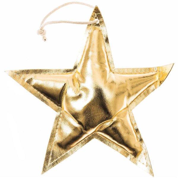 Stern Goldfolie 16cm
