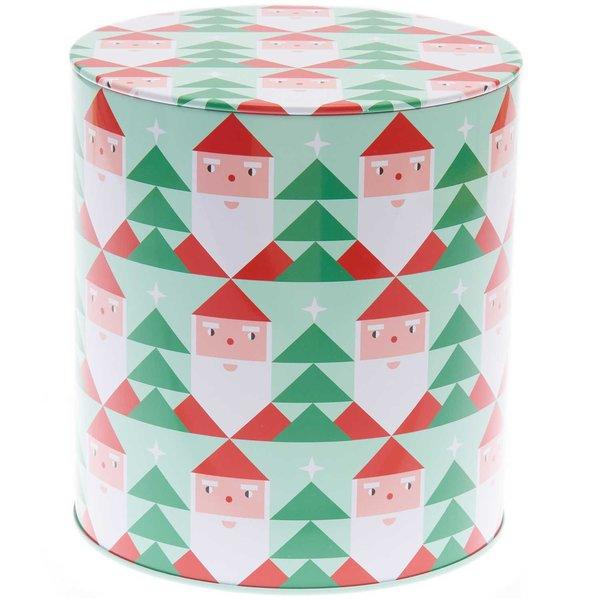 YEY! Let's Party Keksdose Weihnachtsmann 13,6x15,1cm