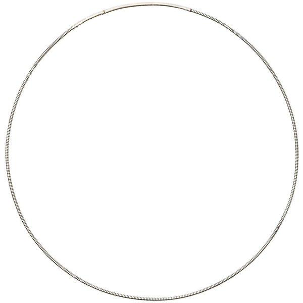 Jewellery Made by Me Collier mit Steckverschluss silber 14,5cm