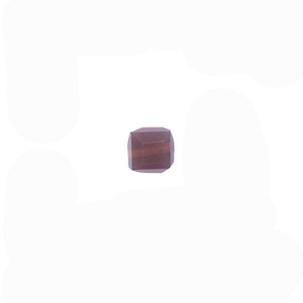 Rico Design Glasschliffperle grau 5x4mm 15 Stück