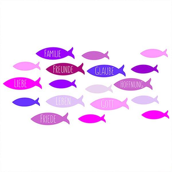 efco Wachsdekor Fische rot 8x6cm