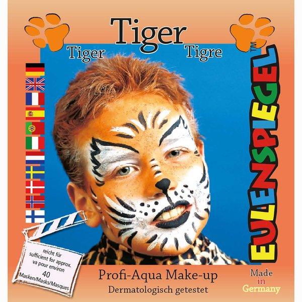 Eulenspiegel Schmink Set Tiger