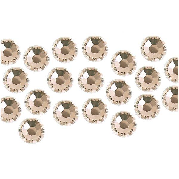 Swarovski® Hot Fix Steine crystal 3mm 20 Stück