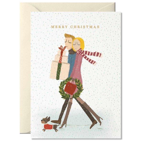 Nelly Castro Grußkarte Merry Christmas 10,5x14,8cm