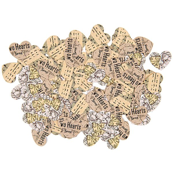 Paper Poetry Tischkonfetti Herzen 150 Stück